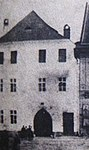 Overview of house no 3 in Třebíč, next to hotel Habsburg, photo of eighties of 19th century (cropped) in Třebíč.jpg