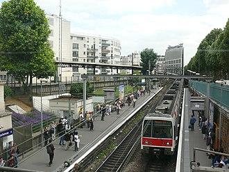 Gare de Denfert-Rochereau - Image: P1060652