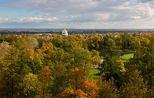 Pushkinsky District, Saint Petersburg - State Art and Architectural Palace and Park Museum - Reserve Tsarskoye Selo, Pushkinsky District