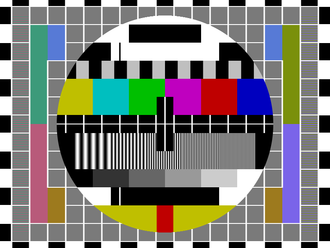 Test card - PM5544: common PAL test pattern