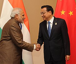 China–India relations - Wikipedia