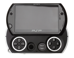 Piano Black PSP Go