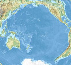Wellington is located in Pacific Ocean