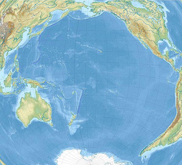 Filipina Maro situas en Pacifika Oceano