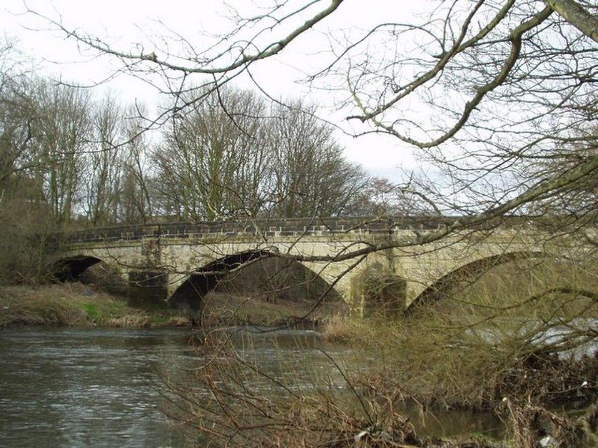 Pack Horse Bridge, Calverley - Horsforth - geograph.org.uk - 129345.jpg