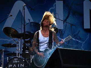 Peter Tägtgren multi-talented musician in death metal; producer