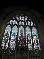 Painted glass window over the altar - geograph.org.uk - 1974376.jpg