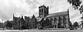 Paisley Abbey from the south east bw.jpg