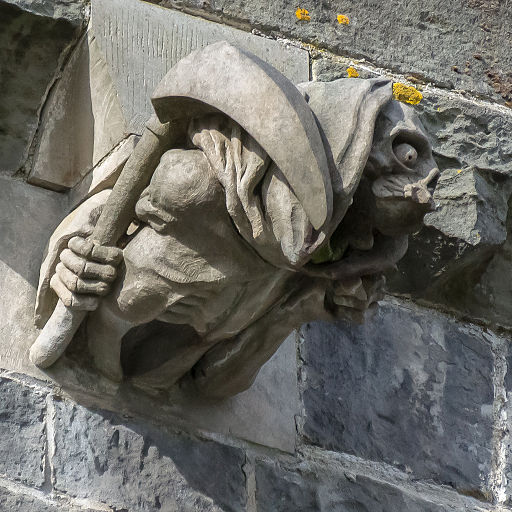 Paisley Abbey gargoyle 08