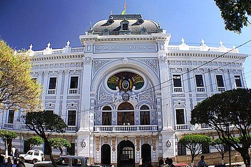 Palacio de la Prefectura de Chuquisaca (Sucre - Bolivia)