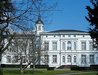 Chancellor of Germany (1949–) - The Palais Schaumburg in Bonn is the secondary seat of the Chancellor