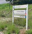Panneau d'indication à Chorges - Parc scientifique du Lac ALP.jpg