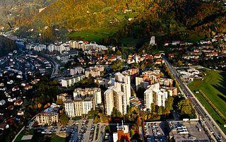 Velenje City in Styria, Slovenia