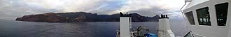 Robinson Crusoe Island - Image: Panorama view of Robinson Crusoe Island Chile