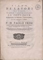 Paolo Frisi – Piano de' lavori da farsi per liberare, e assicura, 1761 - BEIC 2048820.tif