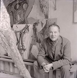 Marino Marini (sculptor) - Marino Marini, photo by Paolo Monti, 1963 (Fondo Paolo Monti, BEIC).