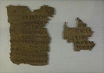Papyrus 36 - Laurentian Library, PSI 3 - John 3,14-18.31-32.34-35 - recto.jpg