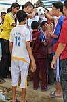 Paratroopers deliver soccer equipment to Rusafa DVIDS173725.jpg