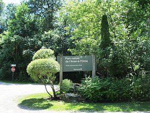 L'Anse-à-l'Orme Nature Park - Image: Parc nature de l anse a l Orme 001
