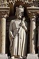 Paris - Cathédrale Notre-Dame -Galerie des rois - PA00086250 - 011.jpg