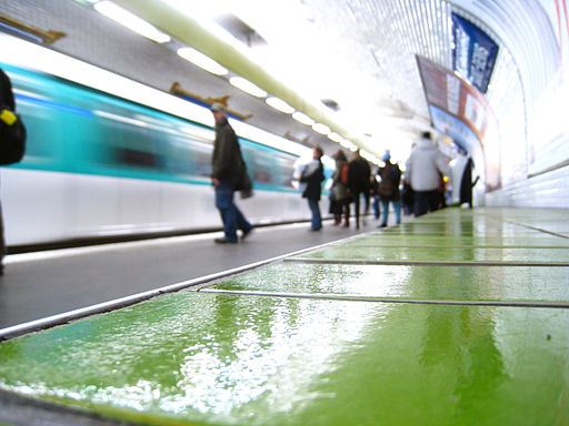 Paris Metro 8 Strasbourg - Saint-Denis