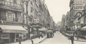 Rue Lepic - Rue Lepic in 1925, seen from Place Blanche