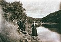 Partington - Tourists, Waikato River.jpg