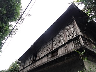 Pasig - Bahay na Tisa (Tech House), the oldest existing bahay na bato in Pasig, was built in the 1850s.