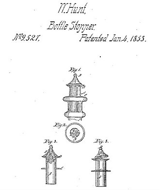 Walter Hunt (inventor) - Image: Patent 9,527