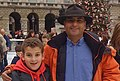 Paul Atherton, Charles Atherton-Laurie On Ice Rink at Somerset House - Our London Lives.jpg