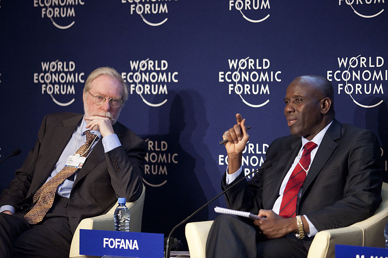 File:Paul Collier and Mohamed Lamine Fofana - World Economic Forum on Africa 2012.jpg