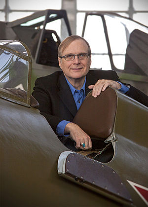 Paul Allen - Allen at Flying Heritage Collection in April 2013
