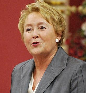 2014 Quebec general election - Image: Pauline Marois 05 crop