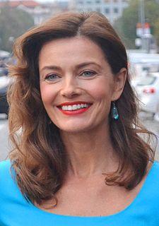 Paulina Porizkova czech-American model and actress