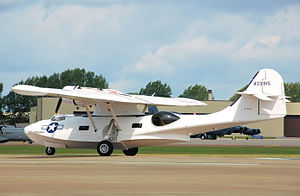 Canadian Vickers - Canadian Vickers PBV-1A Canso A at RIAT, England in 2009. A version of the PBY-5A Catalina, this aircraft was built in 1944 for the Royal Canadian Air Force