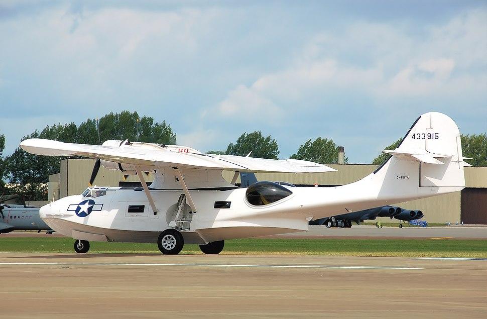 Pbv-1a canso flying boat g-pbya arp