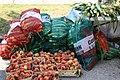 Peaches and Corn at a Farmers Market.jpg