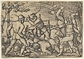 Peasants' Brawl from The Peasants' Feast or the Twelve Months MET DP837076.jpg