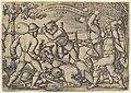 Peasants' Brawl from The Peasants' Feast or the Twelve Months MET DP837076.jpg