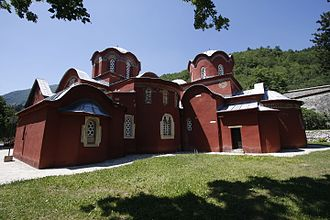 Serbian Orthodox Church - Patriarchate of Peć in Kosovo, the seat of the Serbian Orthodox Church from the 14th century when its status was upgraded into a patriarchate