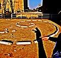 Pedro Meier Land Art »Serpentine in Ruinenlandschaft«, Zement, Eisen, 2016. Minotaurus Projekt, Art Campus Attisholz, Foto © Pedro Meier Multimedia Artist.jpg