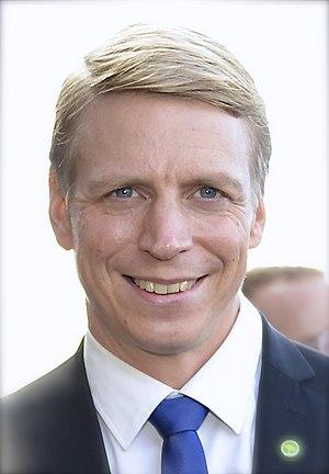 Minister for Consumer Affairs (Sweden) - Image: Per Bolund 2014