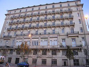 Pera Palace Hotel - Rear of Pera Palace Hotel Jumeirah
