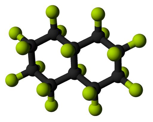 Perfluorodecalin-3D-balls