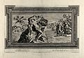 Perseus and Andromeda. Etching by P. Aquila after Annibale C Wellcome V0036103.jpg