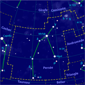 Image illustrative de l'article Persée (constellation)