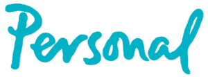 Telecom Argentina - Logo of Personal, the mobile-phone division of Telecom Argentina.