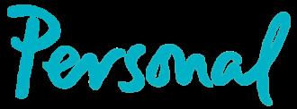 Telecom Argentina - Logo of Personal, the mobile-phone division of Telecom Argentina.
