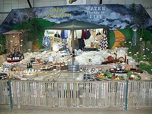 Perth Royal Show - District displays.