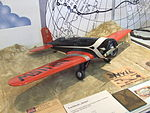 Petőfi Csarnok, Repüléstörténeti kiállítás, Lockheed 8A Sirius modellje.JPG